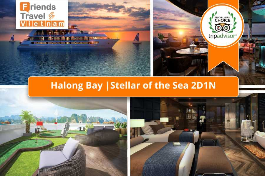 Friends Travel Vietnam Stellar of the Seas Cruise | 2D1N Halong Bay