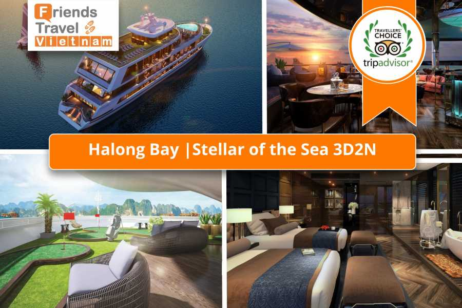 Friends Travel Vietnam Stellar of the Seas Cruise | 3D2N Halong Bay