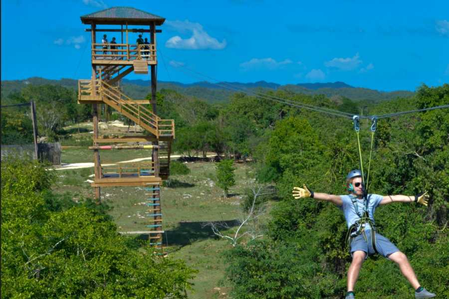 Jamwest Motorsports and Adventure Park Zipline - JA
