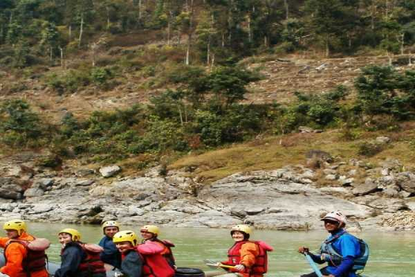 1 Day - Trisuli River Rafting | Index Adventure