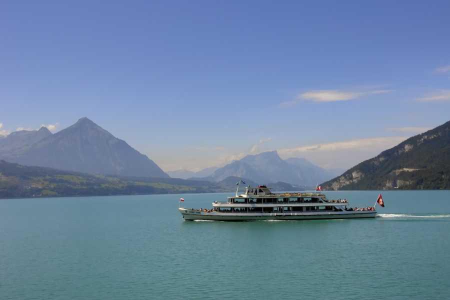 BLS Schifffahrt B2C Tageskarte mit PanoramaCard Thunersee