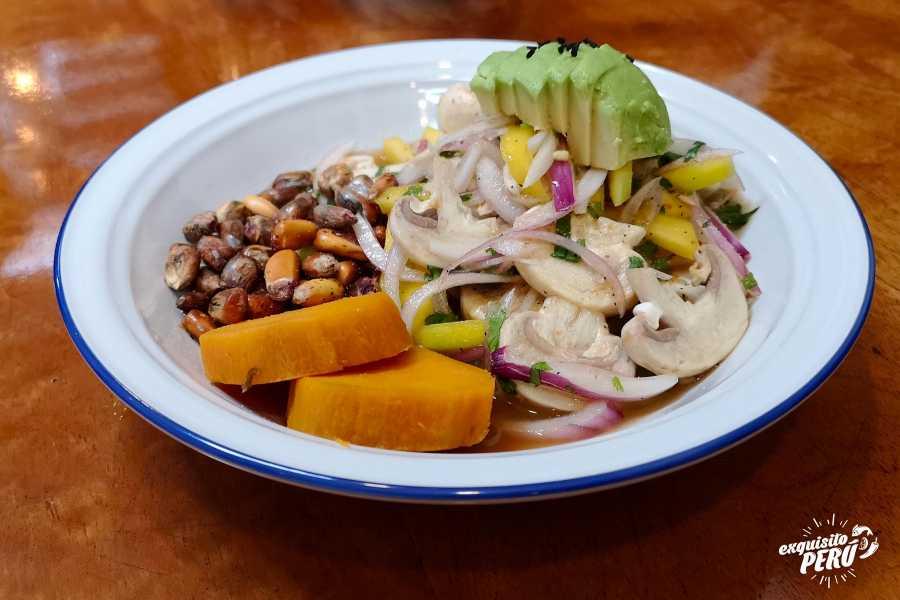Exquisito Perú Tour gastronómico vegano en Barranco