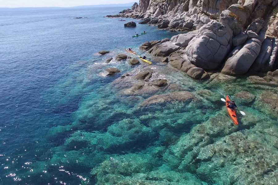 Grekaddict Kayaking around the island of Ammouliani