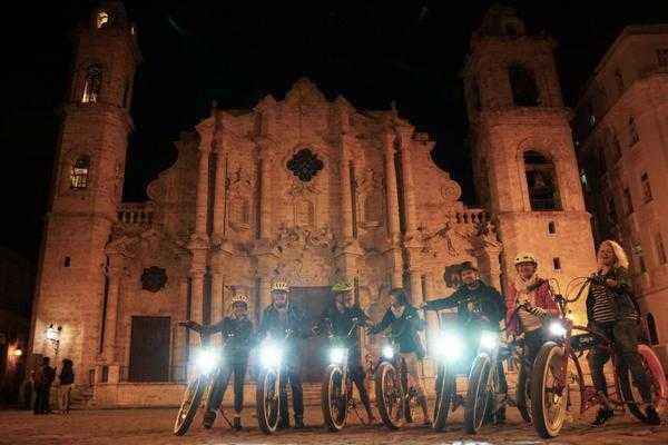 Cubyke Travel Havana by night