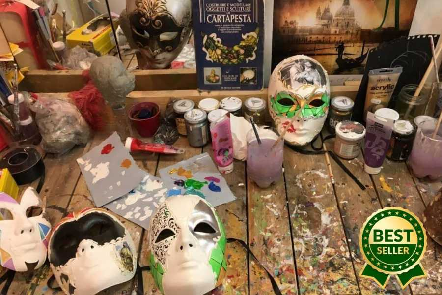 Venice Tours srl CREATE YOUR OWN VENICE MASK.BOOKING