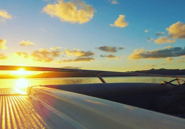 Exclusive Sunset Speedboat Cruise in the South