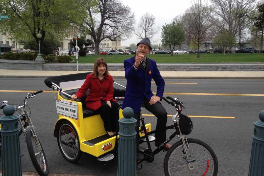 DC Pedicab Capitol Hill Tour