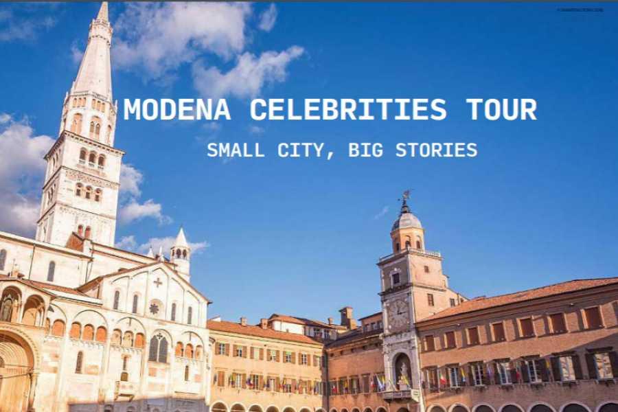 Modenatur Modena celebrities tour: small city, big stories - walking tour