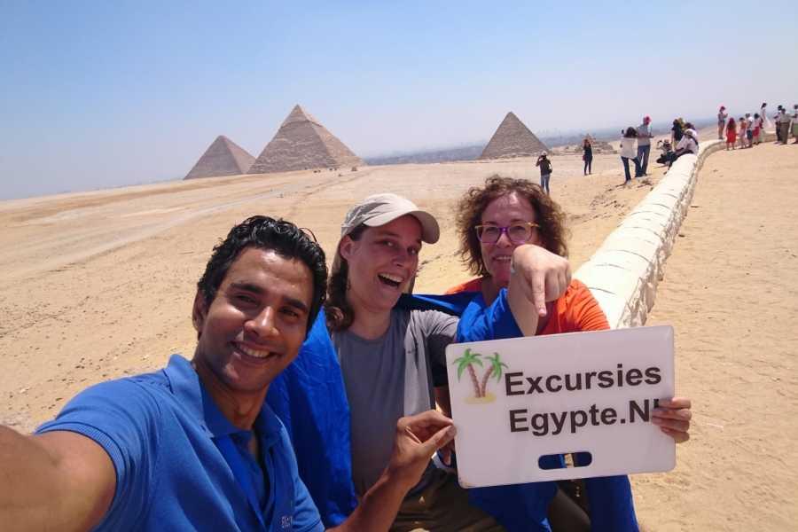 Excursies Egypte Excursion d'une journée aux pyramides de Gizeh, Memphis et Sakkara au Caire