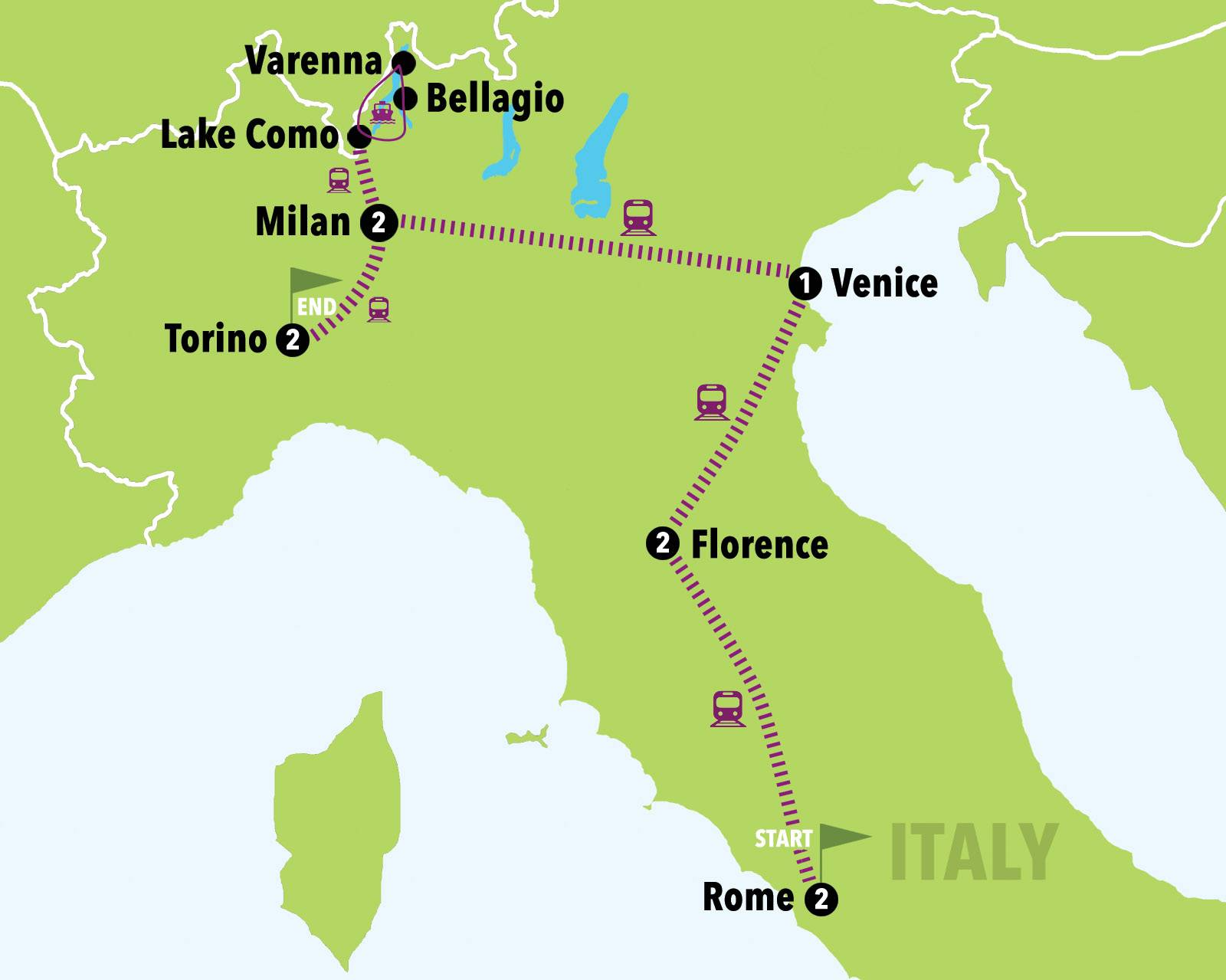 Milan To Rome >> Italy Escape 10 Days 9 Nights Italy On A Budget Tours Italy 1