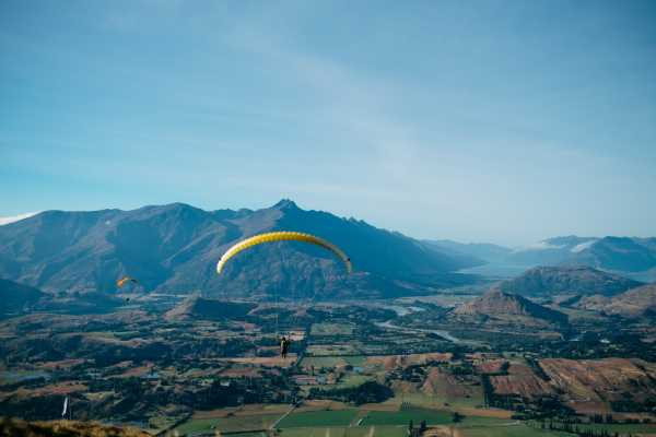 Paragliding - The Sensational