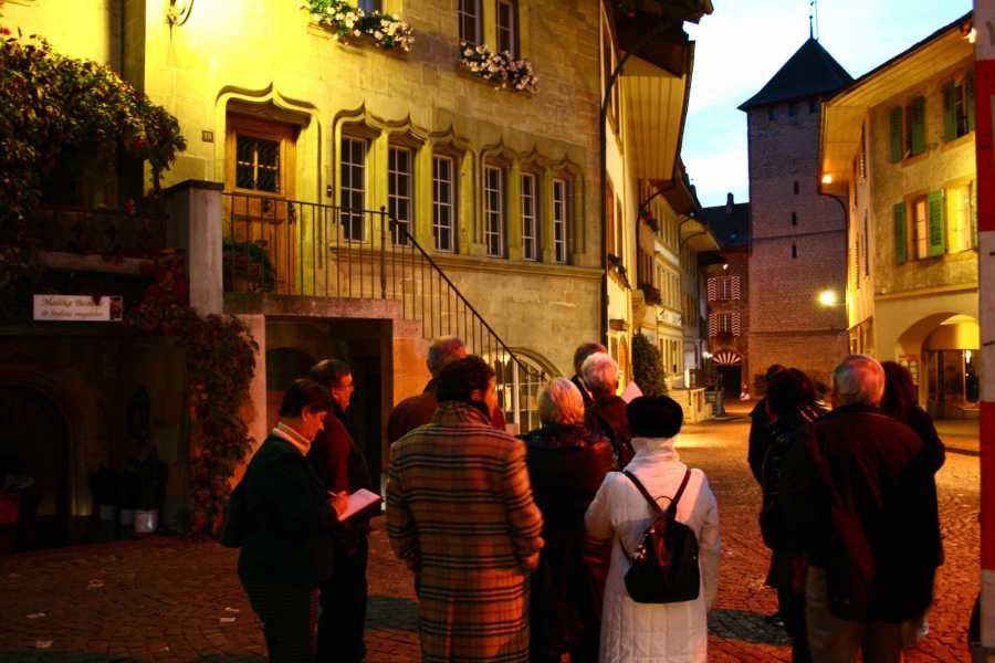 Murten Tourismus / Morat Tourisme Visite guidée - derrière les coulisses