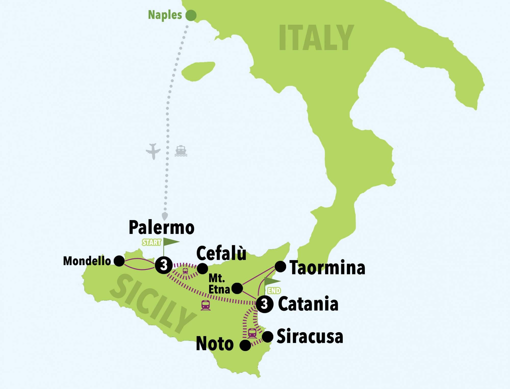 DISCOVERING SICILY ON A BUDGET - 7DAYS/6NIGHTS - Italy on a Budget ...