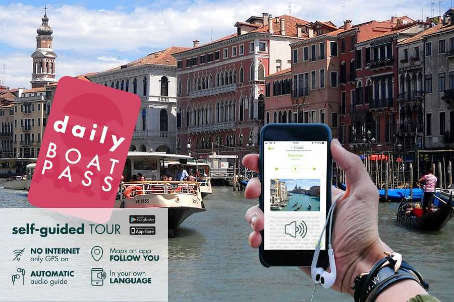 Venice Tours srl Boat Hop on Hop Off 1 day & Self-guided tours on  foot!