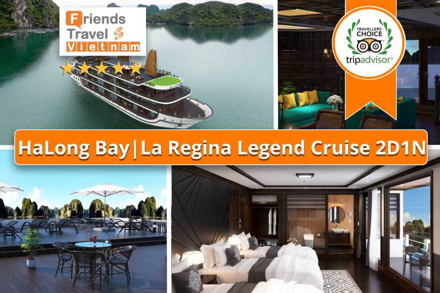 Friends Travel Vietnam La Regina Legend Cruise | 2D1N Lan Ha Bay