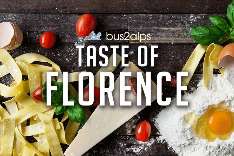 Bus2Alps AG Taste of Florence: FREE Food & Drink Tour