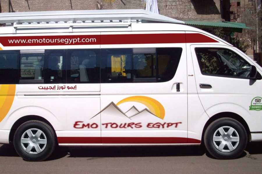 EMO TOURS EGYPT Van Car rental with driver accommodates 4 up to 10 Passengers