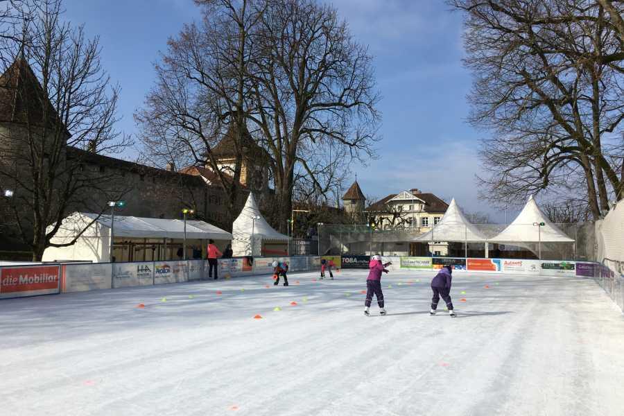 Murten Tourismus / Morat Tourisme ICE Package - Schlittschuhlaufen