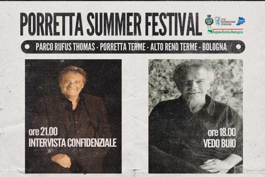 Bologna Welcome PORRETTA SUMMER FESTIVAL 9 SETTEMBRE