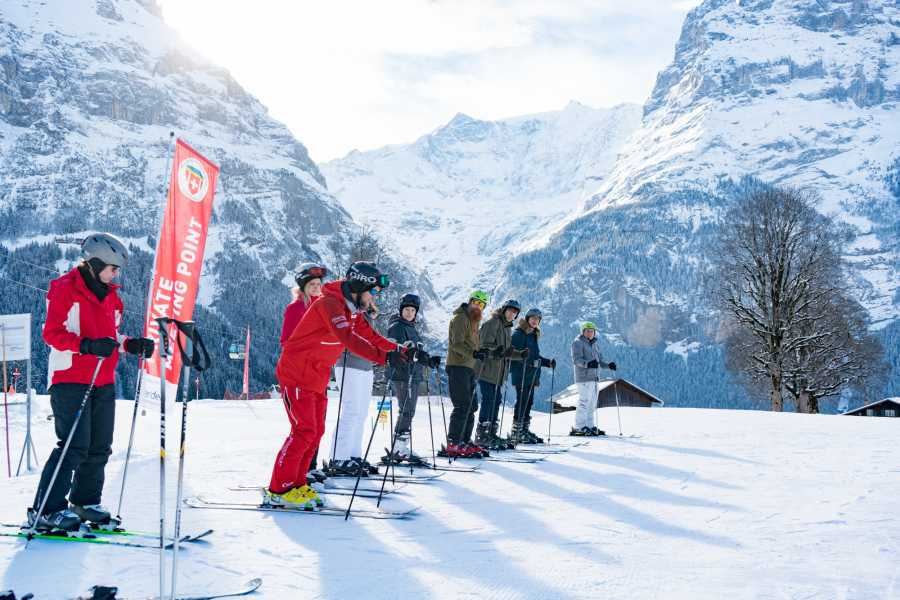 Outdoor Interlaken AG 双板滑雪初学者一日体验包(1 day beginner ski package)