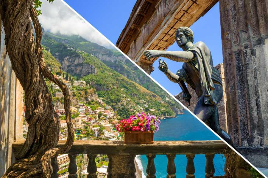 Di Nocera Service Pompei, Sorrento & Positano Tour from Rome