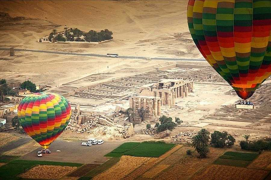 Marsa alam tours luxor two days tour from Makadi with hotair balloon