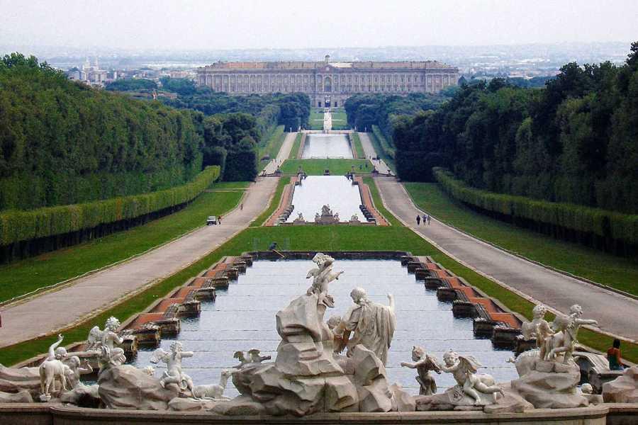 Di Nocera Service Caserta Royal Palace & La Reggia Shopping SpreeTour from Positano