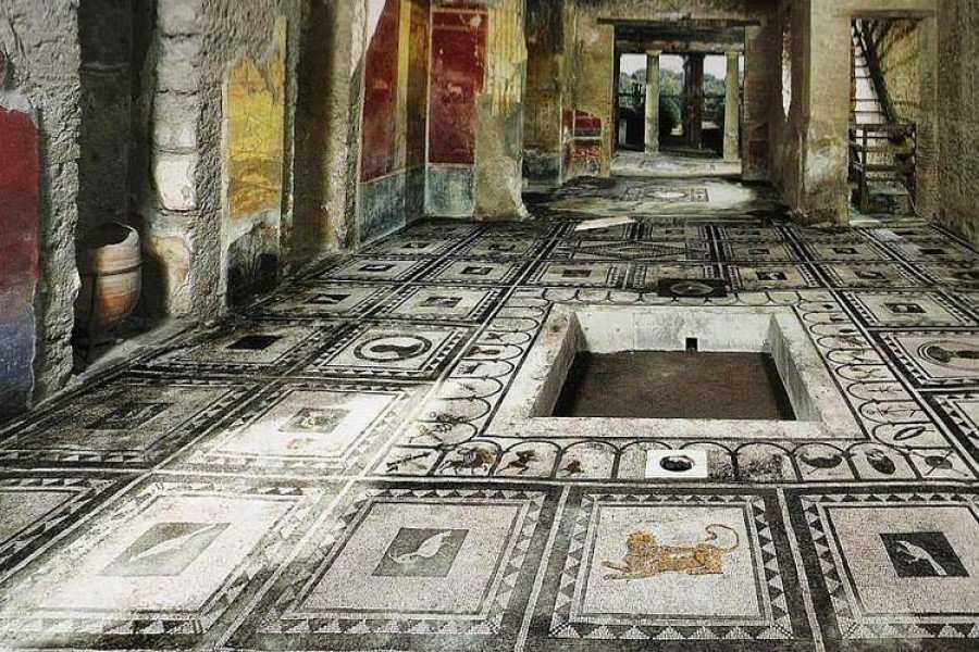 Di Nocera Service Excursion to Pompei and Herculaneum from Positano