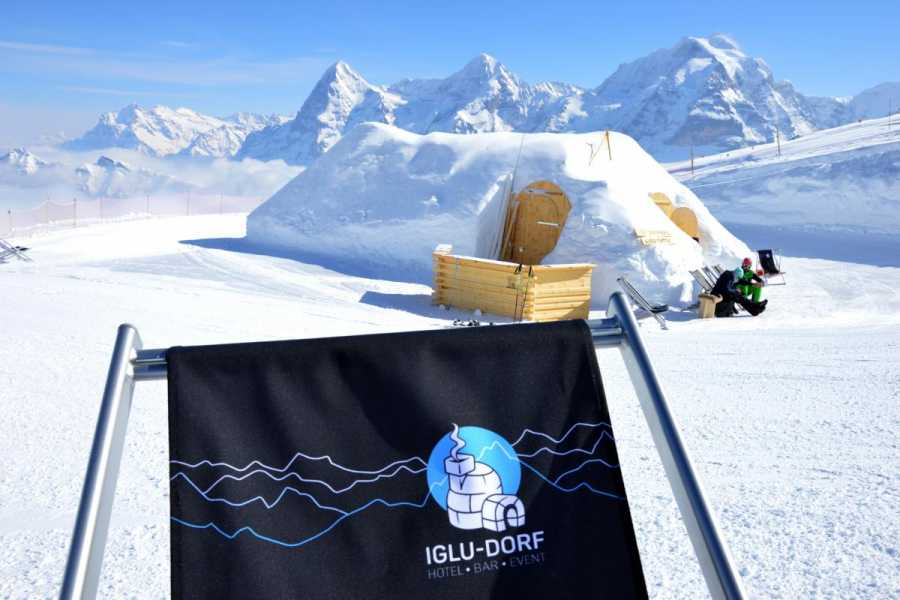 Schilthorn Cableway Ltd. Fondue Tasting in the igloo village