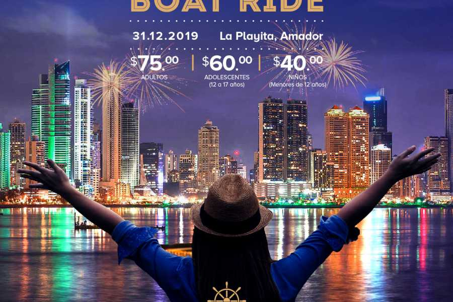 Canal & Bay Tours New Year's Party 2020 - Sail In The Bay