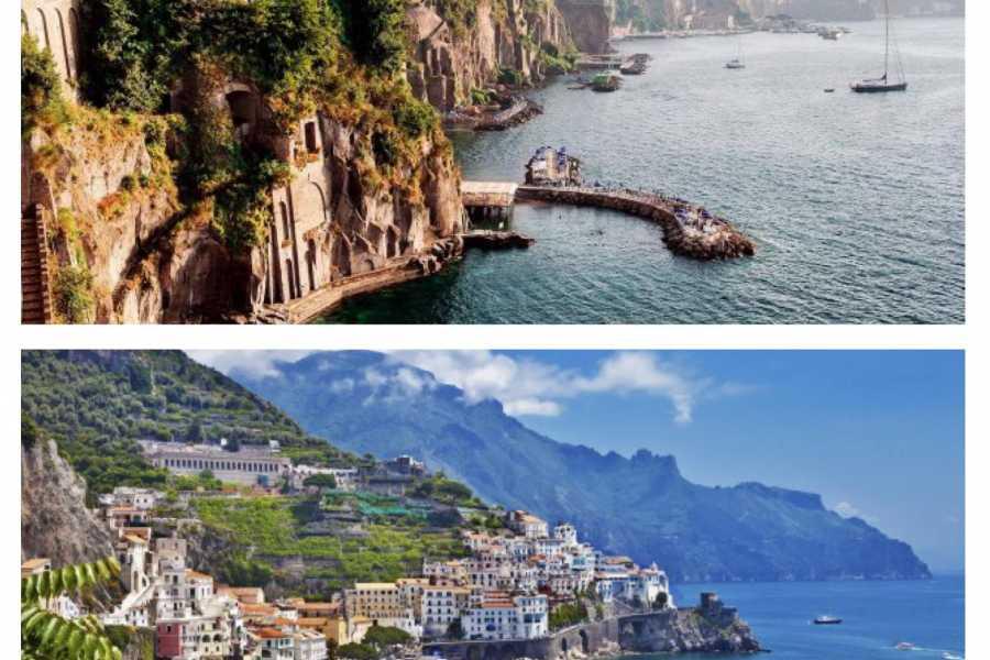 Di Nocera Service Pompei, Amalfi & Sorrento Tour from Positano