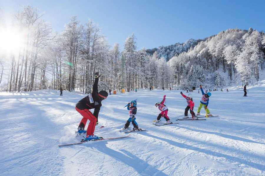 Intersport Bernik Ski course for children 7-14 years