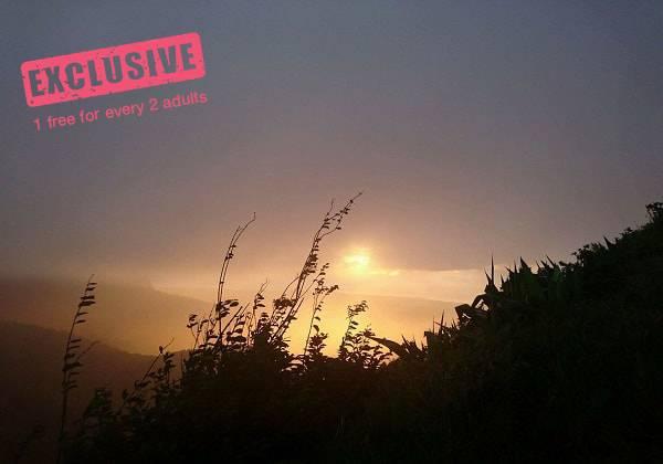 Le Pouce Sunset Hike