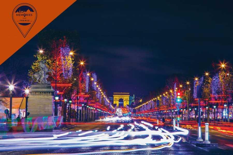 Memories DMC France Christmas in Paris: The Champs Elysées & the Arc de Triomphe