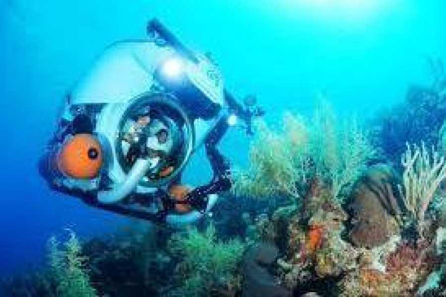 Jan Thiel Diving Verkenning met onderzeeër
