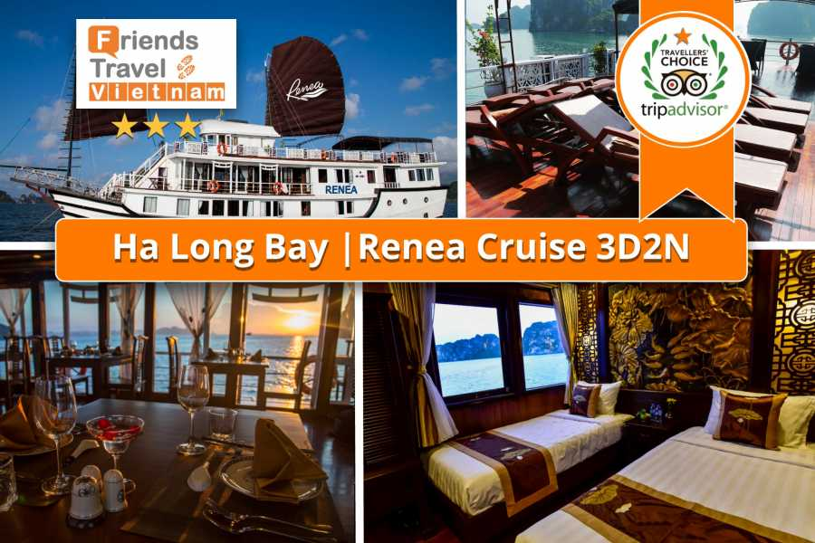 Friends Travel Vietnam Renea Cruise | Halong Bay 3D2N