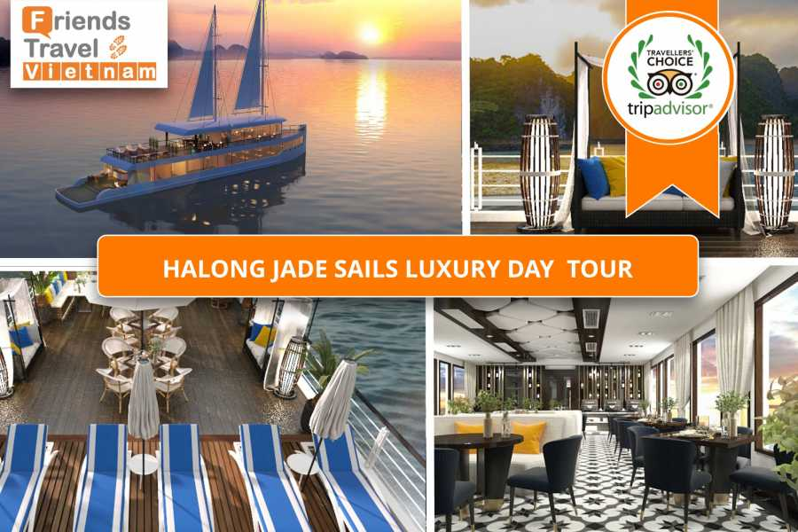 Friends Travel Vietnam Ha Long Jade Sails Luxury Day Tour