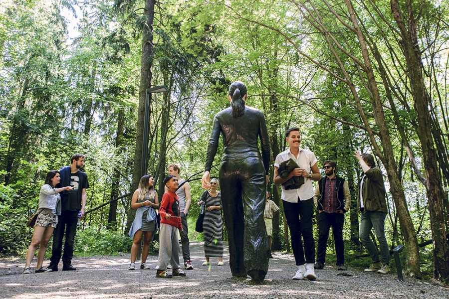 Ekebergparken Høstvandring i Ekebergparken 07.10.18