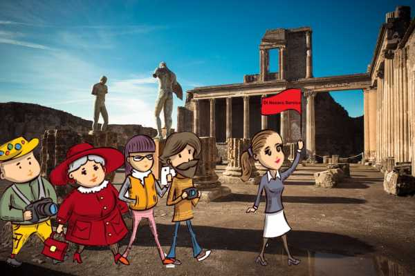 Di Nocera Service Pompei tour with a professional guide for 2 hours