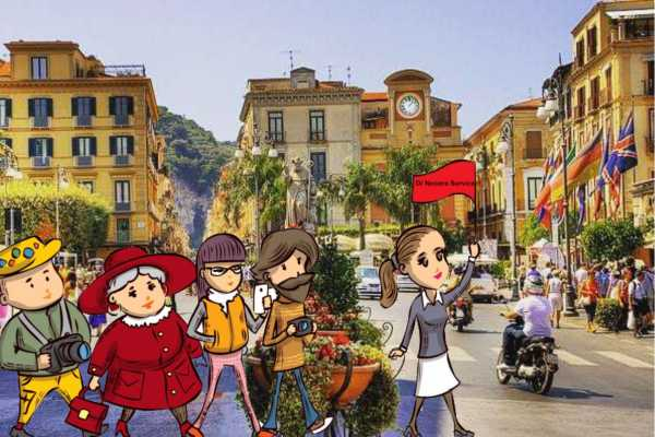 Di Nocera Service Sorrento H/day tour with a private and professional guide