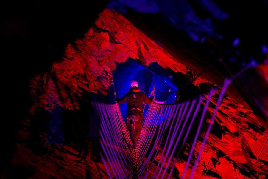 Cambria Tours Zip World - Caverns & Titan