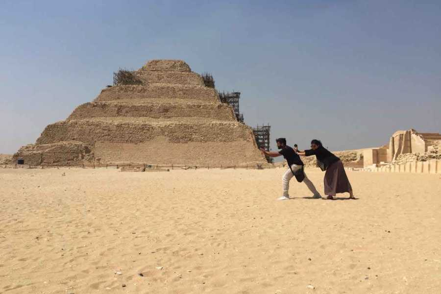 Excursies Egypte Day Tour to Giza Pyramids and Saqqara from Cairo