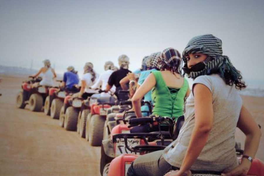 Marsa alam tours Nachmittags Quad Bike Safari Ausflug von EL Gouna