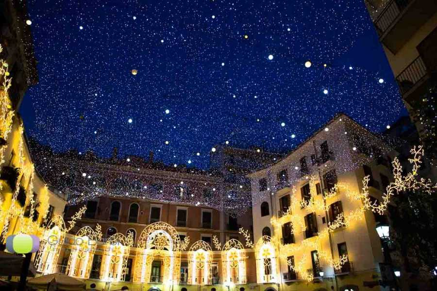 Di Nocera Service Christmas tour From Sorrento (San Gregorio Armeno & Salerno Christmas Lights)