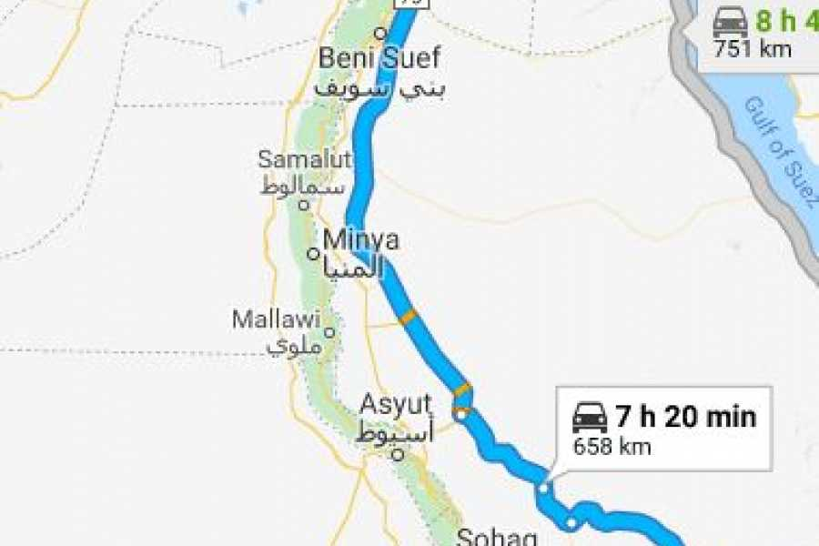 Marsa alam tours Transfer from Luxor Airport To Cairo By Bus