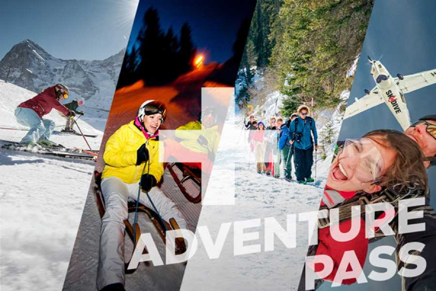 Outdoor Interlaken AG 스키 + 스카이다이빙 패키지 (The Ultimate Winter Package)