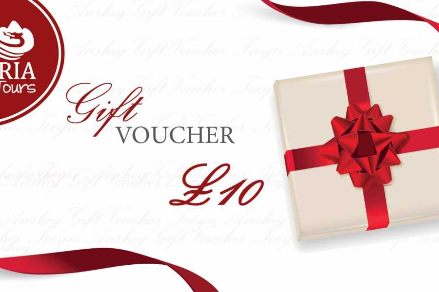 Cambria Tours £10 Gift Voucher