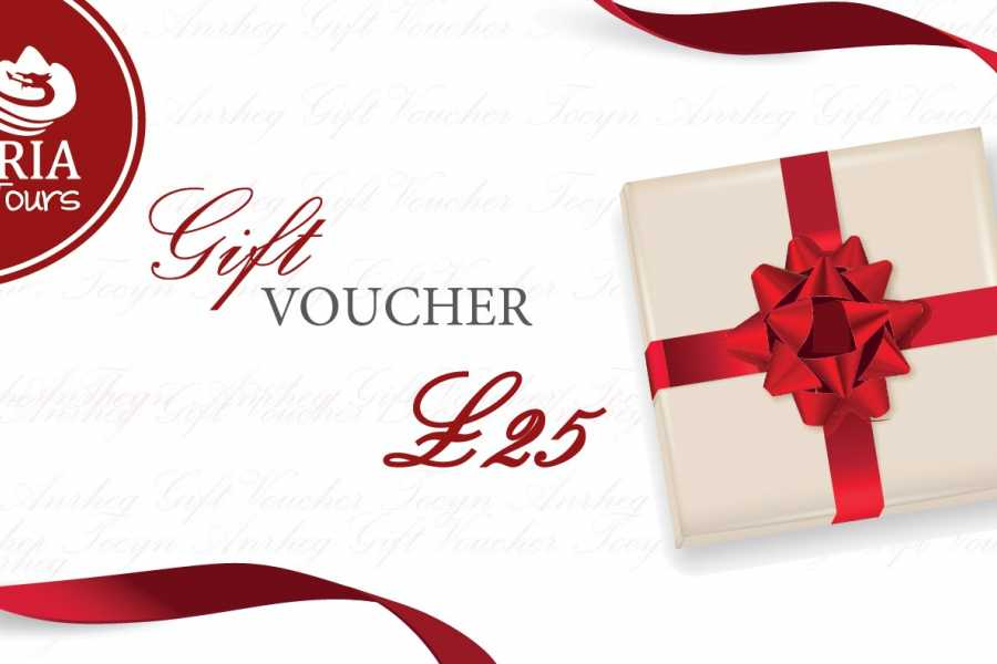 Cambria Tours £25 Gift Voucher