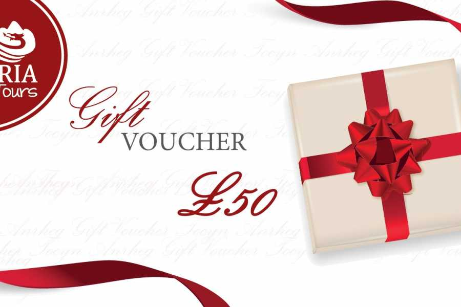 Cambria Tours £50 Gift Voucher