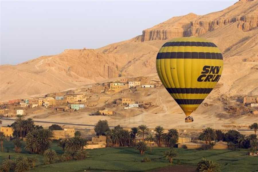 Marsa alam tours luxor two days tour from  Port Ghalib with hotair balloon